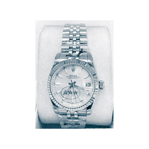Rolex Oyster RO358 Automatic - Women's Chain Watch - Bejewel