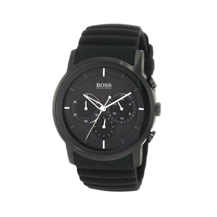 Boss BS551 Chronograph - Unisex Rubber Watch - Bejewel