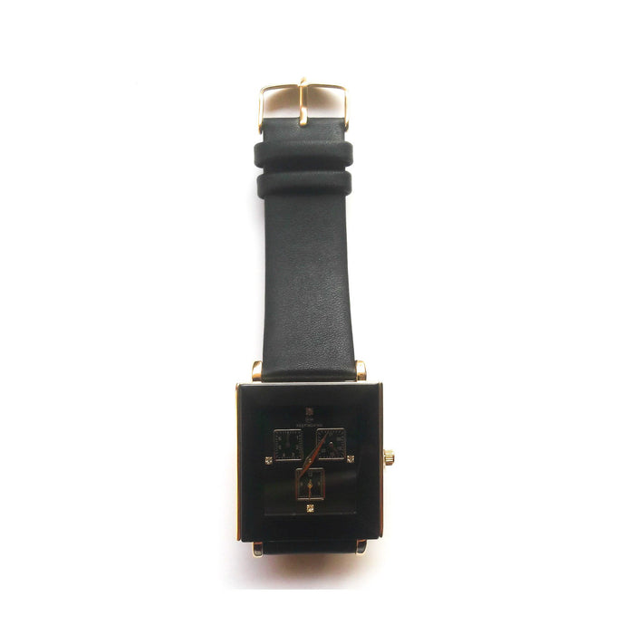 Keep Moving KM586 Unisex Leather Watch - Bejewel