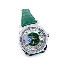 Load image into Gallery viewer, Rolex RL369 Automatic - Women's Leather Watch - Bejewel