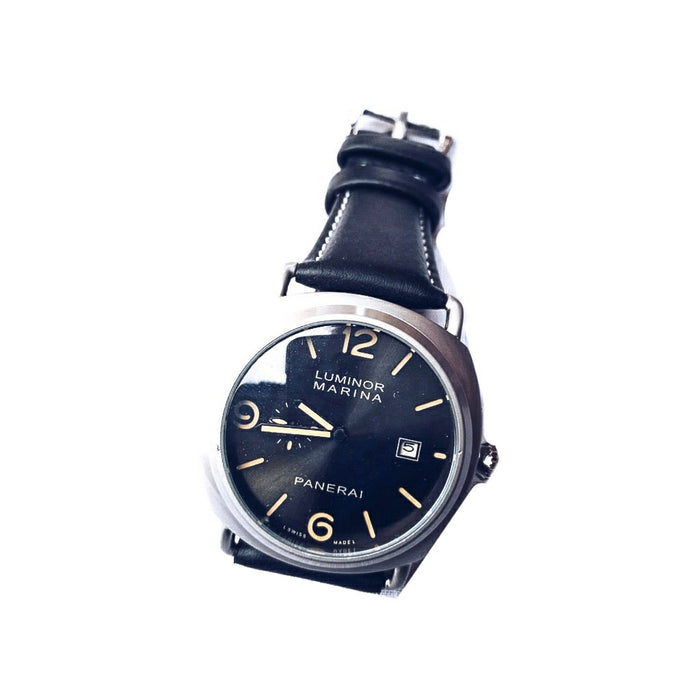 Luminor Submersible LS377 Unisex Leather Watch - Bejewel