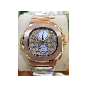 Patek Philippe PP431 Chronograph Unisex Chain Watch - Bejewel