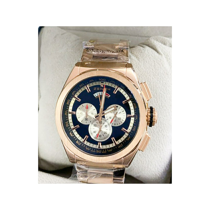 Zenith ZN399 Chronograph - Men's Chain Watch - Bejewel