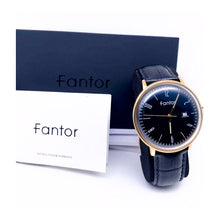 Load image into Gallery viewer, Fantor FT745 - Men's Leather Watch - Bejewel