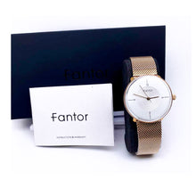 Load image into Gallery viewer, Fantor FT340 Unisex Chain Watch - Bejewel