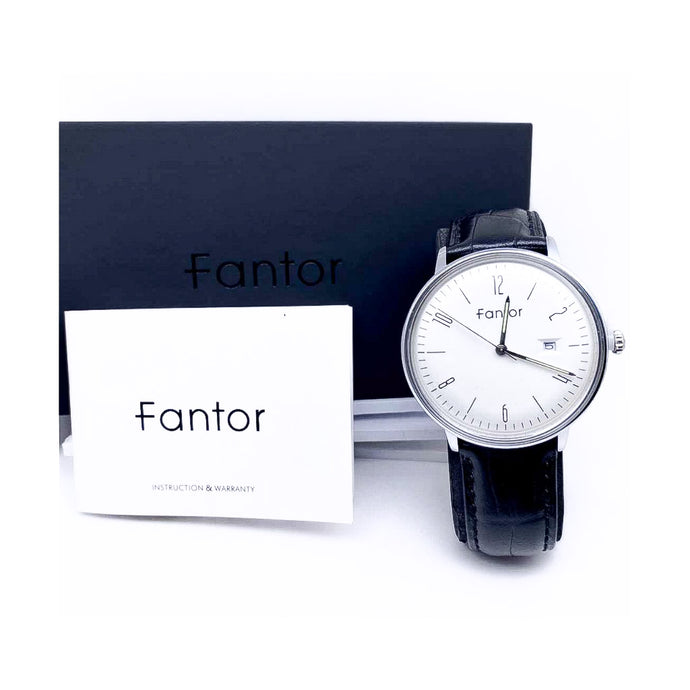 Fantor FT745 - Men's Leather Watch - Bejewel