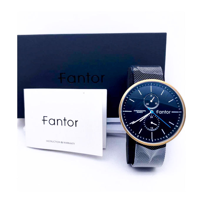 Fantor FT460 Chronograph - Unisex Chain Watch - Bejewel