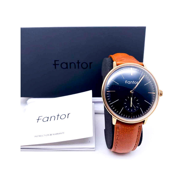Fantor FT930 - Unisex Leather Watch - Bejewel