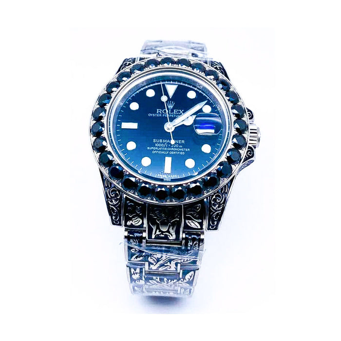 Rolex Oyster RO733 Automatic - Unisex Chain Watch - Bejewel