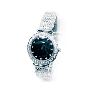 Longines LG556 Automatic - Women's Chain Watch - Bejewel
