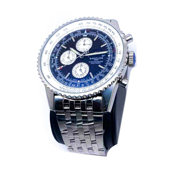 Brietling BL434 Chronograph - Men's Chain Watch - Bejewel