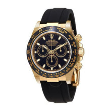 Load image into Gallery viewer, Rolex Oyster RO446 Automatic Chronograph - Unisex Rubber Watch - Bejewel
