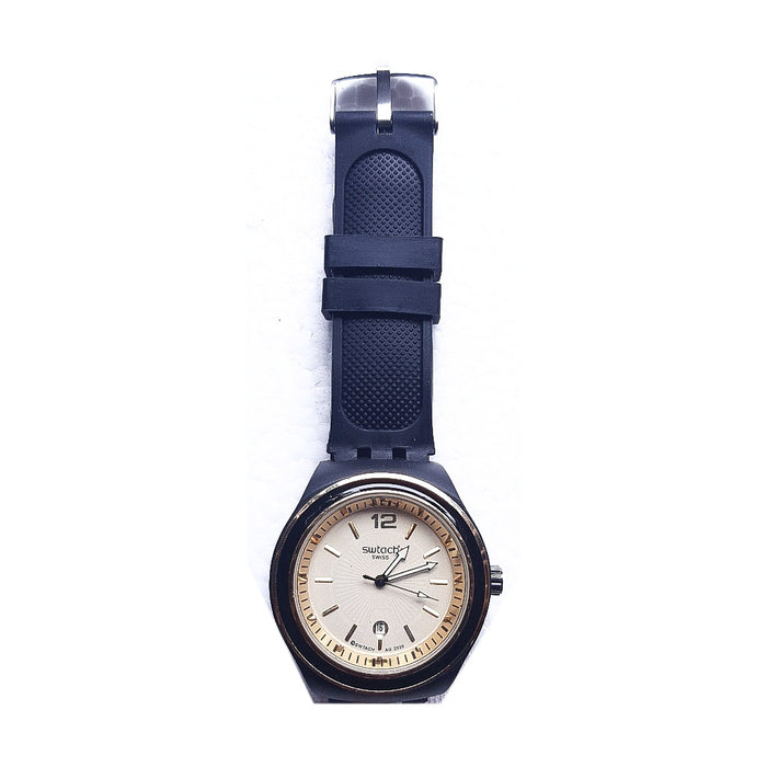 Swatch SC993 Unisex Rubber Watch - Bejewel