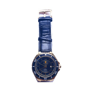 Look World LW775 Unisex Leather Watch - Bejewel