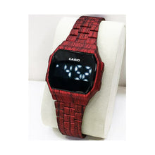 Load image into Gallery viewer, Casio CS326 Touch Screen - Unisex Chain Watch - Bejewel