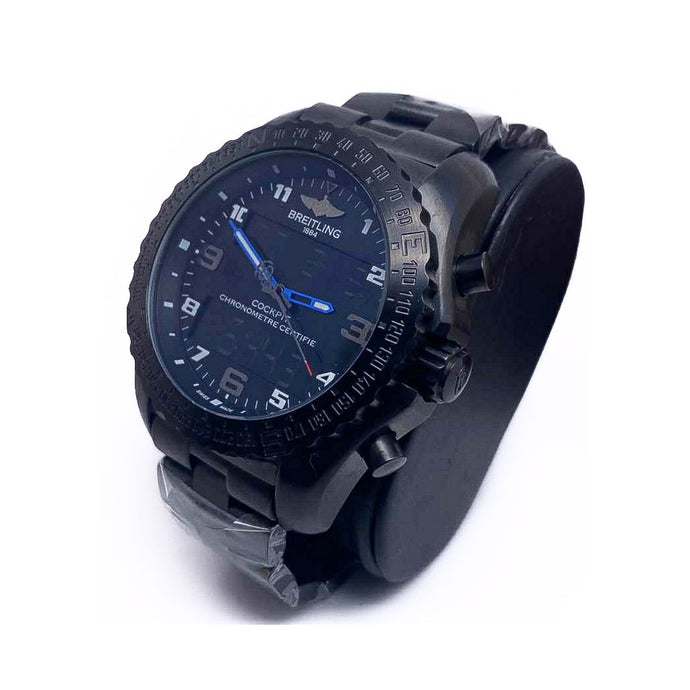 BT859 Automatic Dual System - Men's Chain Watch - Bejewel