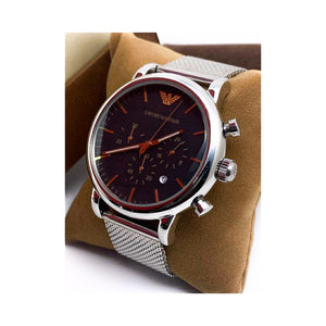 EA693 Automatic Chronograph - Men's Chain Watch - Bejewel