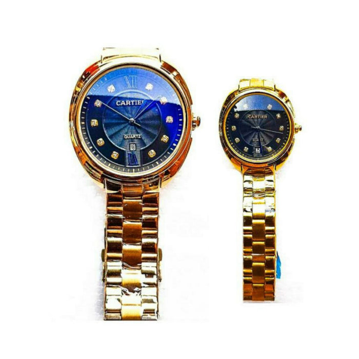 CT944 Couples Chain Watch