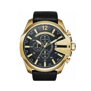 DS425 Chronograph - Men's Leather Watch - Bejewel