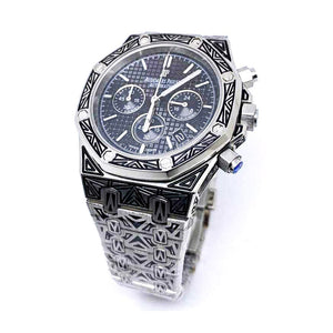 AP549 Automatic Chronograph - Men's Chain Watch - Bejewel