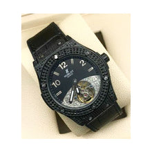 Load image into Gallery viewer, HB696 Automatic - Men's Leather Watch - Bejewel