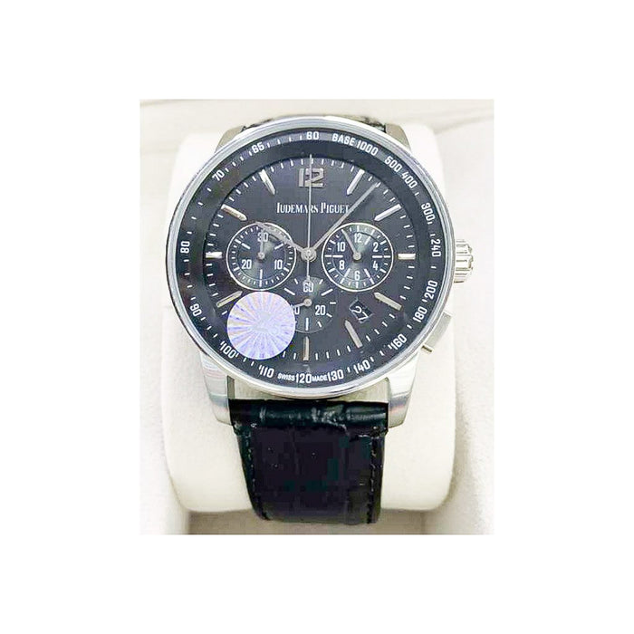 AP312 Automatic Chronograph - Men's Leather Watch - Bejewel