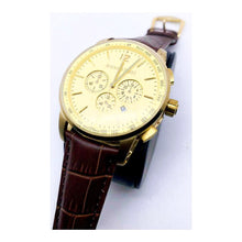 Load image into Gallery viewer, AP312 Automatic Chronograph - Men's Leather Watch - Bejewel