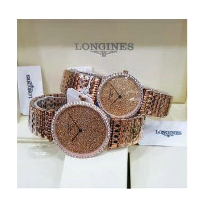 LG398 Automatic - Couples Chain Watch - Bejewel