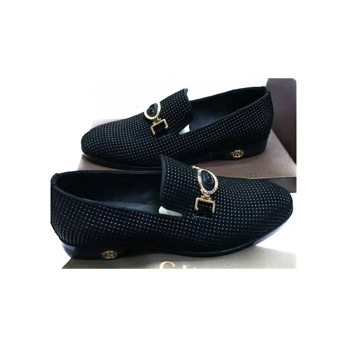 MS372 Men's Leather Loafer Shoe