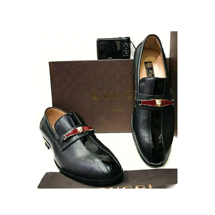 MS659 Men's Leather Loafer Shoe