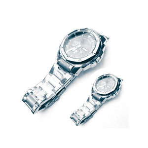 LB315 Couples Chain Watch - Bejewel