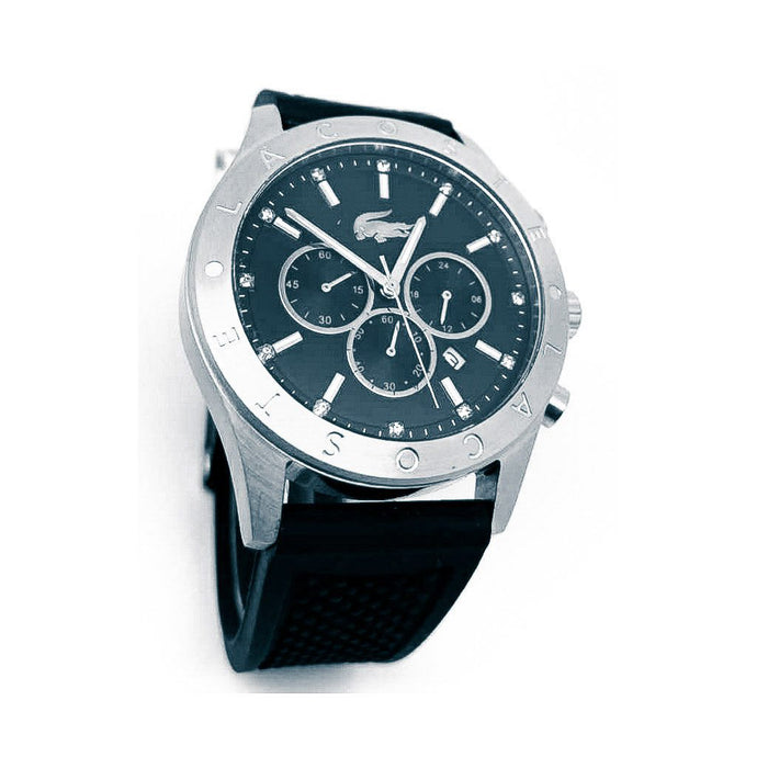 LS843 Automatic Chronograph - Men's Leather Watch - Bejewel