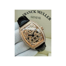Load image into Gallery viewer, FM724 Tourbillon - Men's Leather Watch - Bejewel