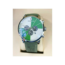 Load image into Gallery viewer, MB869 Chronograph - Men's Leather Watch - Bejewel