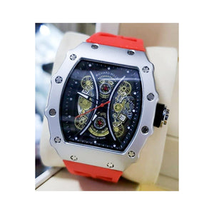 RM959 Men's Rubber Watch - Bejewel