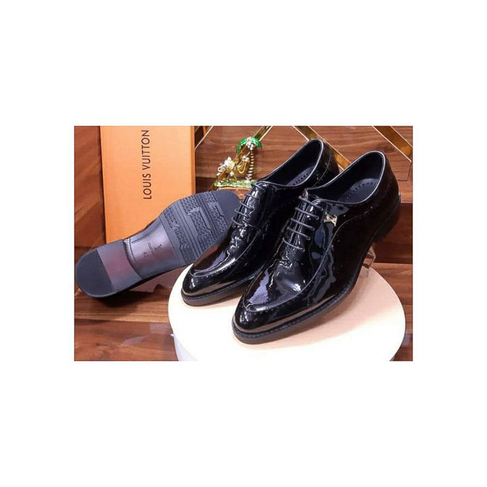 MS618 Men's Leather Loafer Shoe - Bejewel
