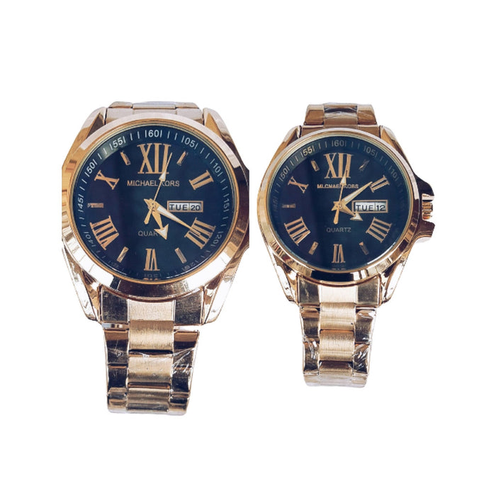 MK587 Couples Chain Watch - Bejewel