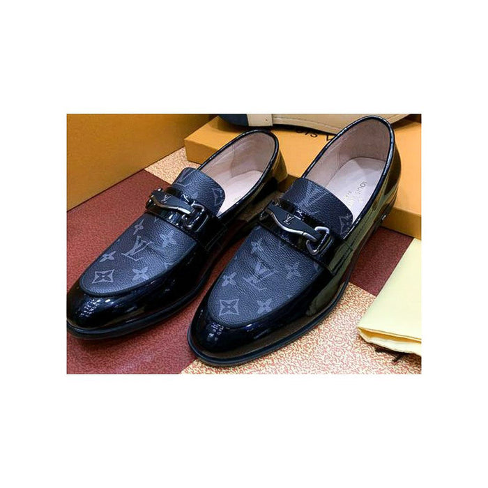 MS891 Men's Leather Loafer Shoe - Bejewel