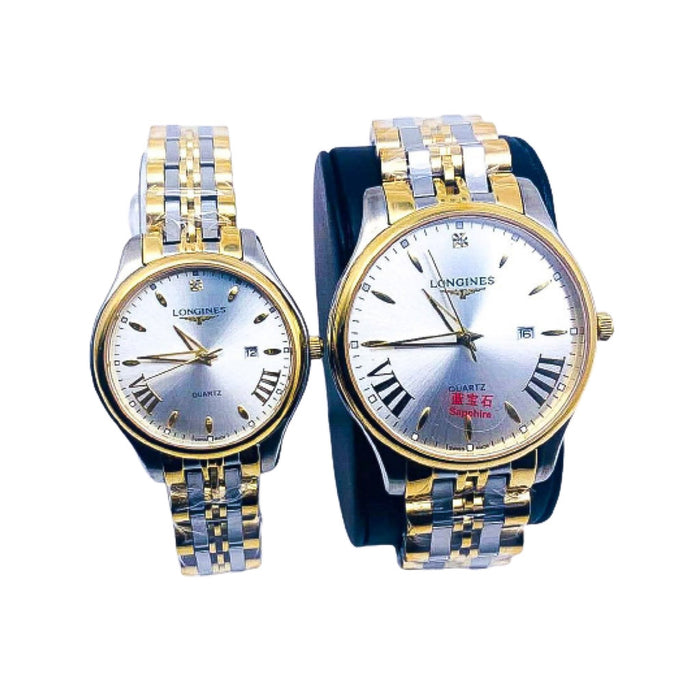LG248 Automatic - Couples Chain Watch - Bejewel