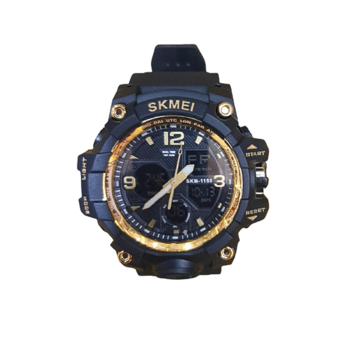 SM115 Dual System - Men's Rubber Watch - Bejewel