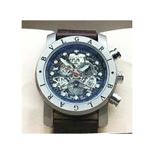 Load image into Gallery viewer, BV680 Men's Leather Watch - Bejewel