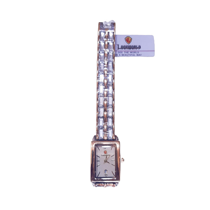 Look World LW597 Women's Chain Watch - Bejewel