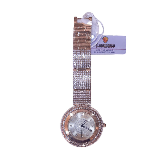 Look World LW941 - Women's Chain Watch - Bejewel