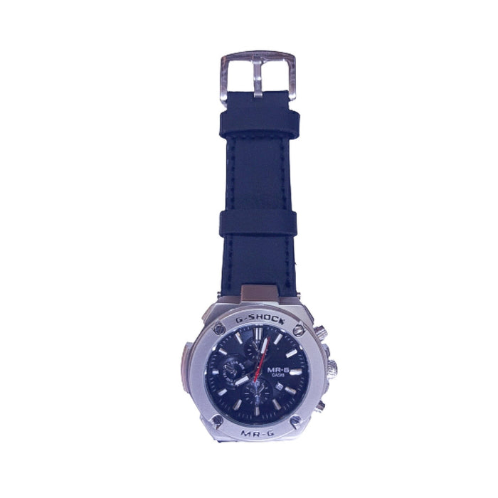 GS262 Men's Leather Watch - Bejewel