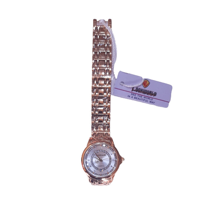 Look World LW200 - Women's Chain Watch - Bejewel
