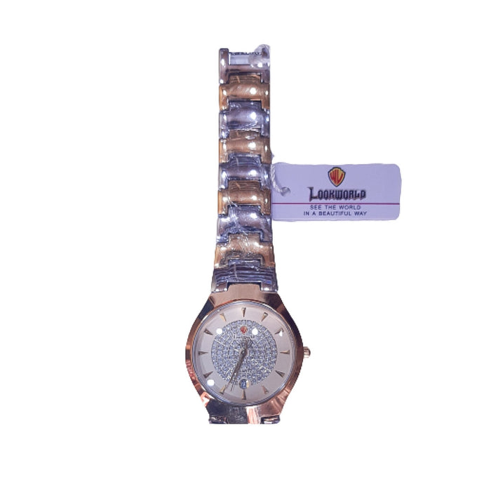 Look World LW251 - Unisex Chain Watch - Bejewel