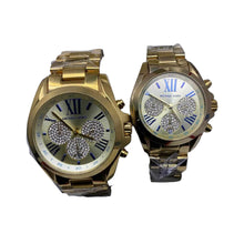 Load image into Gallery viewer, MK721 Automatic Chronograph - Couples Chain Watch - Bejewel