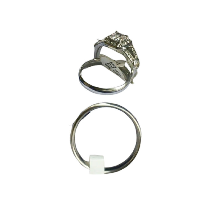 WR439 Couples Wedding Ring - Bejewel