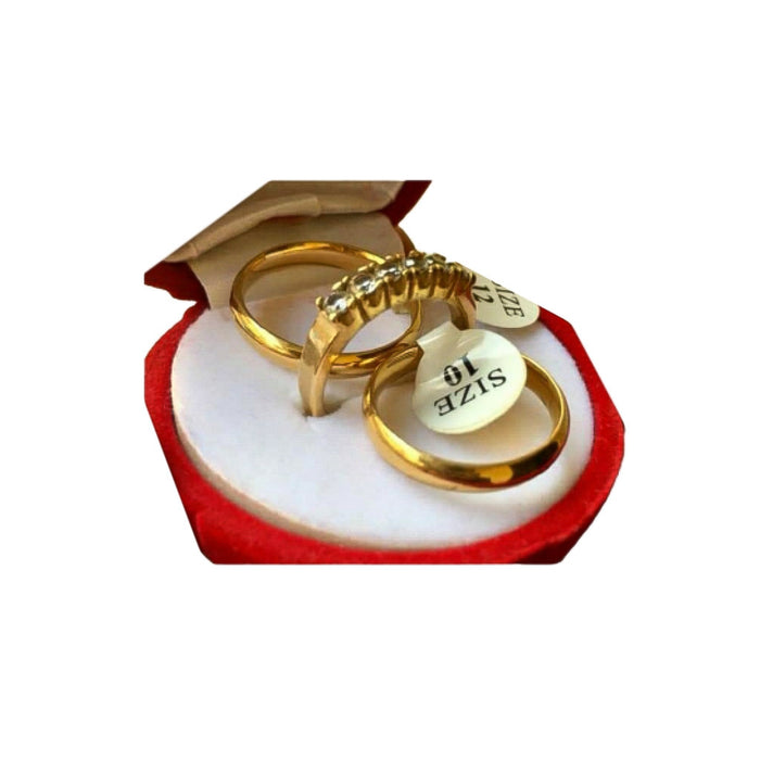 WR422 Couples Wedding Ring - Bejewel