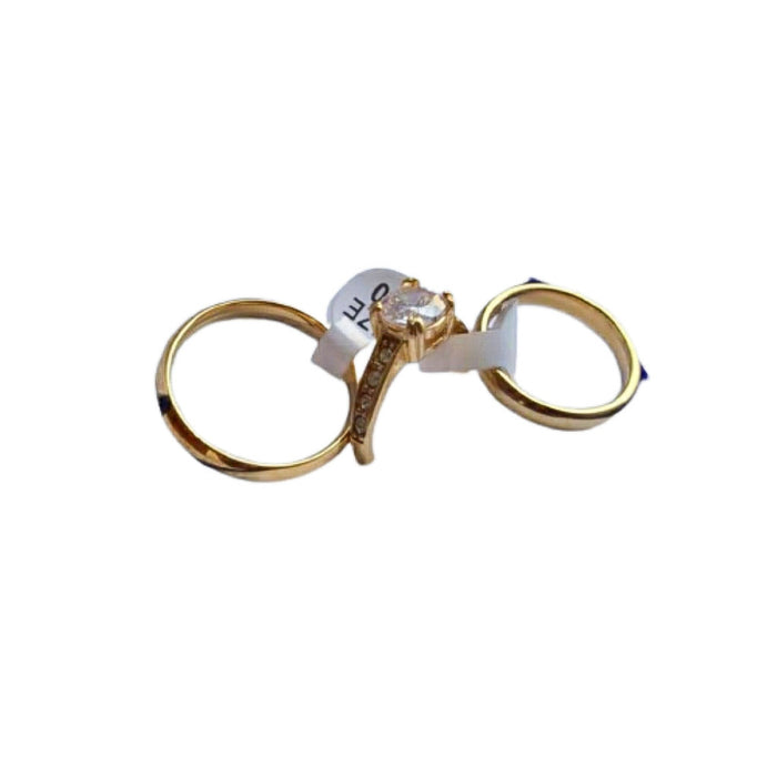 WR811 Couples Wedding Ring - Bejewel
